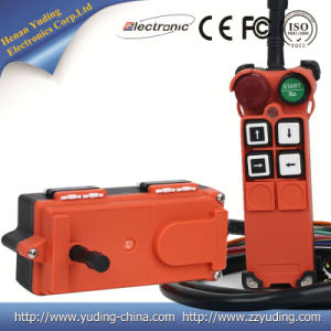 Henan Yuding 2016 New Products F21-4s Ce Certification RF Transmitter and Receiver Remote Control Switch pictures & photos
