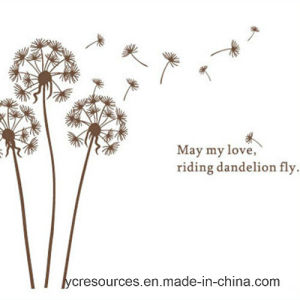 PVC Wall Sticker-May My Love, Riding Dandelion Fly pictures & photos