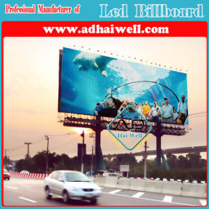 High Quality Unipole Billboard Structure LED Advertising Display pictures & photos
