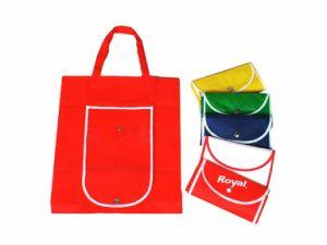 Non Woven Matt Lamination Tote Foldable Shopping Bag (MS8014) pictures & photos