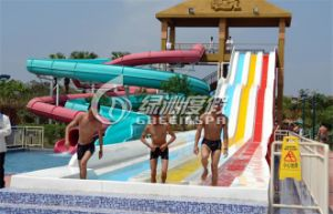 Customized Colorful Fiberglass Water Slide, Water Park Equipment pictures & photos