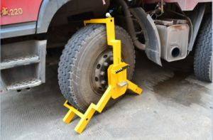 5mm Thickness Heavy Duty Truck Wheel Clamp pictures & photos