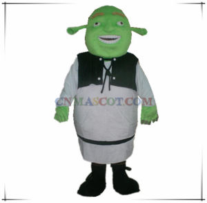 Best Quality Haha Shrek Mascot Cartoon Character Costume