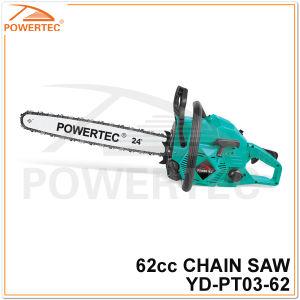 Powertec 62cc Gasoline Chain Saw (YD-PT03-62) pictures & photos