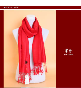 Cashmere Knitted Scarves/Yak Wool Shawls /Yak Cashmere Shawls pictures & photos