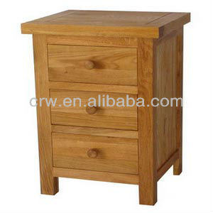 OA-4020 Oak 3 Drawers Bedside / Night Stand pictures & photos