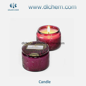 Colourful Glass Jar Jelly Candles with Great Quality pictures & photos