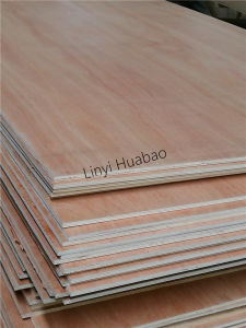 5.2mm Okoume Plywood Combined Core E1 Glue BB/CC Grade pictures & photos