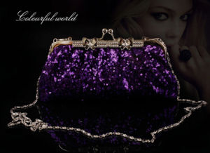 China Product Wholesale Luxury Evening Clutch Hand Bag (XW104) pictures & photos
