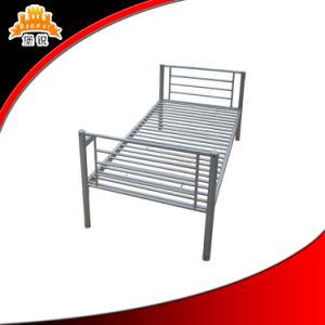 Good Quality Livingroom/School Single Steel Metal Bed pictures & photos
