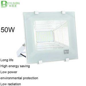 50W AC85V-265V Cornucopia White Color LED Floodlight pictures & photos