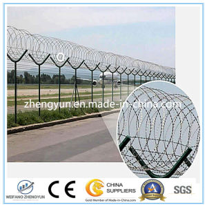 Hot DIP Galvanized Airport Security Fencing (ISO & CE factory) pictures & photos