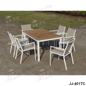 Textilene Mesh Fabric, Outdoor Furniture (JJ-401TC) pictures & photos