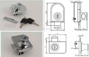 Lock, Furniture Lock, Glass Door Lock Al-408, Al-417 pictures & photos