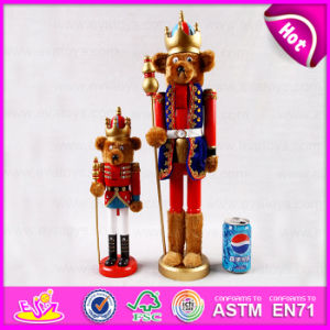 2015 Unique Christmas for Kids Toy, Cute Wooden Christmas Toy Wooden Nutcracker, Promotion Christmas Gift Toy Wholesales W02A063 pictures & photos