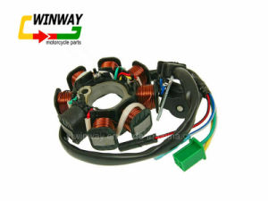 Ww-8603 Ignition Coil, Gy6-125 Motorcycle Stator Coil pictures & photos