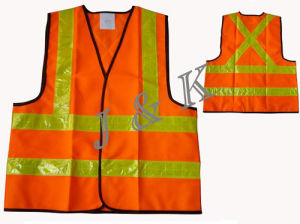 Feflecive Safety Vest (JK36002) pictures & photos