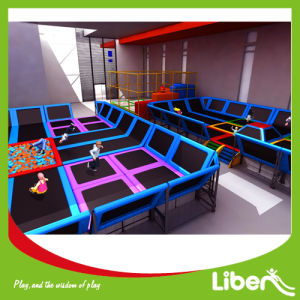 Liben Prices of Indoor Trampoline Room with Safety Net Enclosure pictures & photos