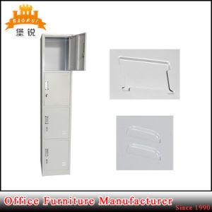 High Standard Knock Down Structure Cheap Steel Vertical 4-Door Locker Storage Cabinet pictures & photos