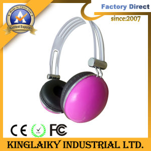 Earphone with Stereo Bass Sound for Computer Headset (KHP-013) pictures & photos