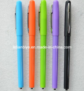 Colored Plastic Gel Pen for Promotion (LT-Y055) pictures & photos