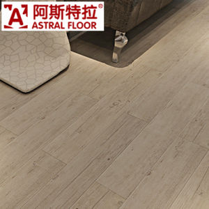 Factory Outlet Indoor Used Click System Laminated Flooring pictures & photos
