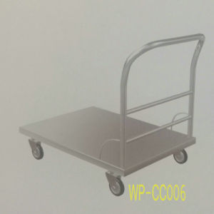 Stainless Steel Kitchen Flat Cart for Commercial Kitchen, Restaurant, Hotel, Dining Room etc pictures & photos