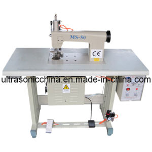 Ultrasonic Lace Machine for Non-Woven Bags (CE) pictures & photos