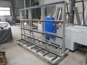 Glass Trolley - Harp Rack-Insulating Glass Trolley Machine pictures & photos