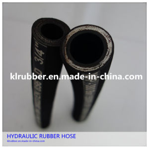 Hydraulic Rubber Hose with Steel Wire Reinforcment pictures & photos