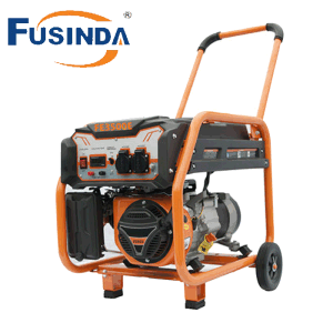3kVA Electric Start Portable Gasoline Generator Fe3500e pictures & photos
