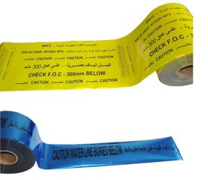 Detectable Warning Tape for Underground Use Very Low Price pictures & photos