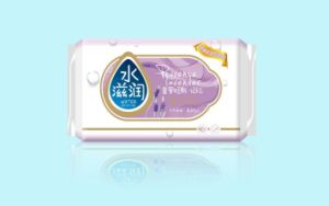 Natural Lavender Wet Wipes Single Piece (A900) pictures & photos