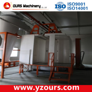 PP Powder Coating Spray Booth with Cyclone Recovery System pictures & photos