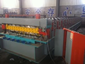 Stable Quality Steel Cladding Panel Roll Forming Machine