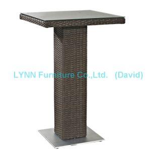Outdoor Garden Furniture Wicker Bar Table pictures & photos