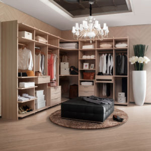 Oppein Modern Yellow Oak Melamine Wooden Closet (YG21351) pictures & photos