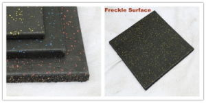 1m Soft Rubber Floor Tile, Wearing-Resistant Rubber Tile, 1m Rubber Tile pictures & photos