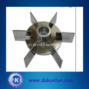 China Stainless Steel Material Turbine-Type Impeller Agitator Parts pictures & photos