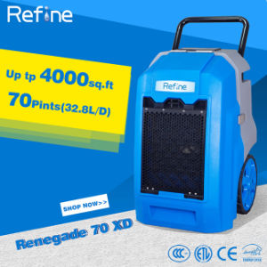 2.85L/Kwh 70 Pints/Day Hot Sale Portable Dehumidifier