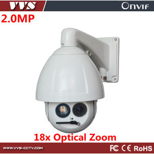 Waterproof 2MP 18X Laser IP PTZ IP PTZ Camera