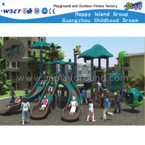 Jungle Series Children Plastic Slide Outdoor Playground HD-Kq50037A pictures & photos