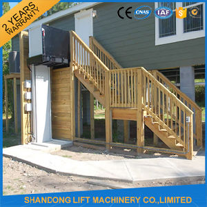 Hydraulic Outdoor or Indoor Elevator to The Private Home pictures & photos