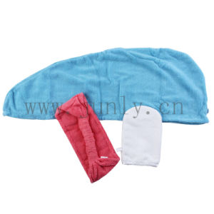 Microfiber Bath Cap, Dry Hair Cap (JL-205) pictures & photos
