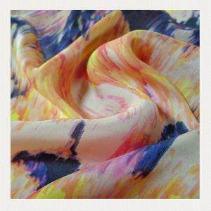 Printed Silk Fabrics pictures & photos