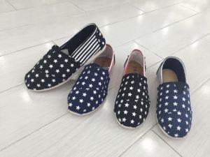 Canvas Shoes Woman Shoes Tomos Shoes pictures & photos