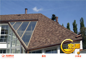 Laminated Asphalt Roofing Shingles / Colored Roof Tiles / Sheets Roofing / Bitumen pictures & photos