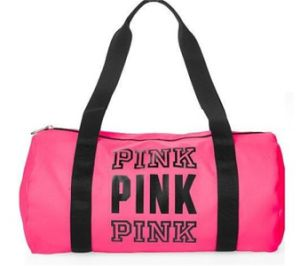 Victoria′s Secret Duffle Bag, Handbag for Gym and Outdoor (BS16009) pictures & photos