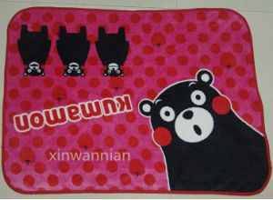100% Polyester Polal Fleece Blanket for Baby (XWN-BSH019)
