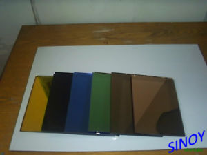 4mm Quality Colored Mirror Glass, Bronze, Grey, Green Mirror, etc pictures & photos